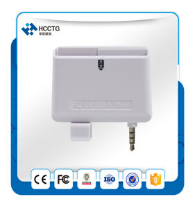 Soporte Contacto Smart Card y tarjeta de banda magnética de audio de 3,5 mm Jack Mobile Mate Lector de tarjetas de la ACR32