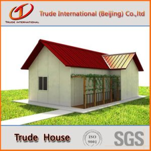 La estructura de acero de calibre de la luz personalizado Edificio Modular/mobile/Prefabricados/Privado prefabricadas casa viva
