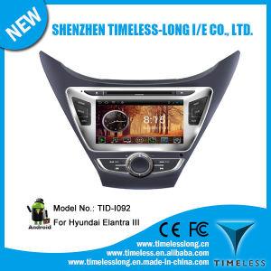 GPS iPod DVR Digital 텔레비젼 Bt Radio 3G/WiFi (TID-I092)에 Hyundai Elantra III 2012-2014년을%s 인조 인간 System Car DVD