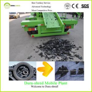 신선한 녹색 두 배 샤프트 슈레더 타이어 절단 및 재생 기계장치
