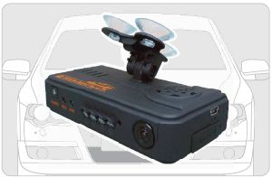 Auto Video Recorder, GPS Tracking System mit Front und Back 2 Cameras