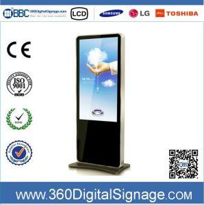 42'' горячая продажа 1080P пол тип ЖК-дисплей панели управления с помощью рекламы внутри сети 3G/WiFi для сетей супермаркетов