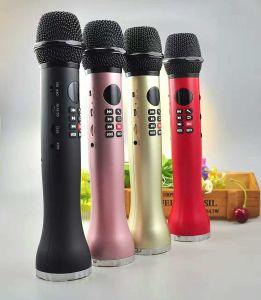 Karaoke Bluetooth drahtloser Mikrofon-Lautsprecher, hochwertiger Ton, 9W, Lautsprecher 15W,