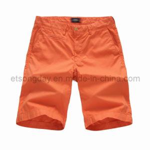 Shorts 100% di svago degli uomini arancioni del cotone (JGY-1401)