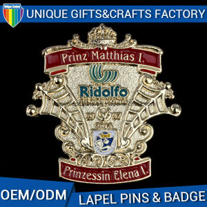 3D記念品のためのカスタムロゴの金属のLalpel Pin