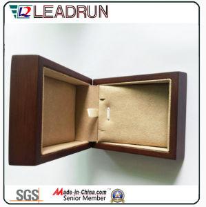 Contenitore di regalo di cuoio dell'imballaggio del gemello del braccialetto del presente del ricordo della casella di memoria dei monili del velluto (YLP131)