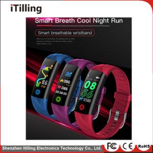 Distribuidor de regalo de la modaFitness Sport Reloj inteligente /Pulsera Brazalete Phoneladies /móviles ver con el sueño el monitor, el podómetro, impermeable, Bluetooth