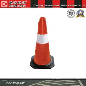 75cm réfléchissant cône en plastique de la prudence de la sécurité routière (CC-A07)