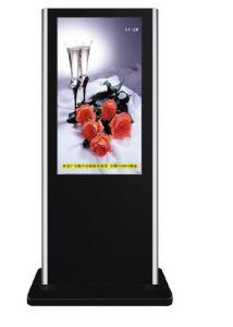 42 인치 Floor Standing Network LCD Media Display, Touch Screen를 가진 WiFi Digital Signage Display
