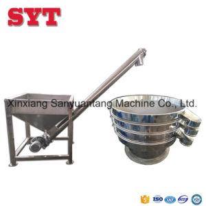 Trasportatore dello zucchero/farina/caffè/polvere di vite dell'acciaio inossidabile