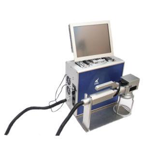 30WGravure 3D Portable Machines machine au laser YAG Graveur la faucheuse