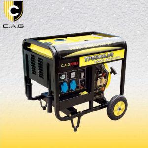 4000ワットのディーゼル携帯用発電機(TP5500LDG/E)