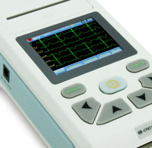Клавиатура сенсорного экрана с одним каналом ЭКГ из группы Meditech Ce и сертификат ISO