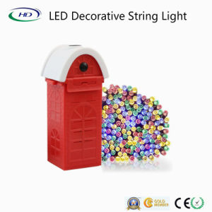 Diseño de patentes de agua salada cadena LED Luz decorativa para vacaciones