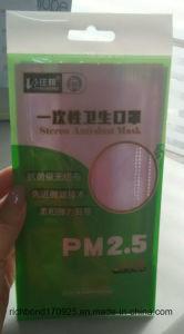 Wegwerfgesichtsmaske für Mund mit Earloop