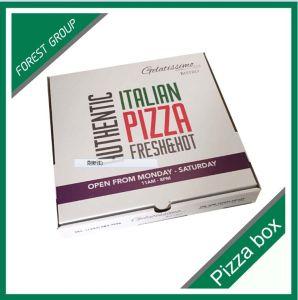 Caixa barata personalizada da pizza da venda por atacado da impressão do logotipo
