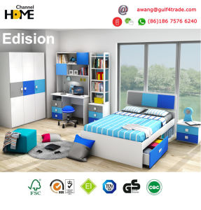 Das 2017 scherzen populäre Kind-Schlafzimmer-Möbel Möbel (Edison)