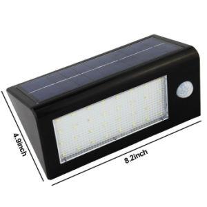 太陽エネルギーの動きセンサー32 LEDの太陽軽い屋外の照明庭のヤードの機密保護の壁ランプ防水IP65