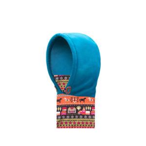 스키 마스크 튼튼한 양털 Hoodie 스카프 목 온열 장치 모자 (YH-HS227)