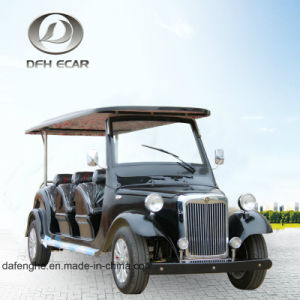 12 Seaters電気クラブカートのゴルフ車の観光車
