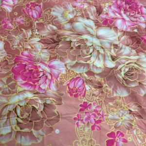 La impresión de pulido de Tejido de poliéster textil para el hogar