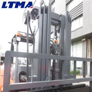 Carretilla elevadora Diesel de 6 toneladas con mástil de elevación libre