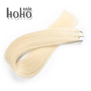 Kan binnen de Aangepaste Band van de Uitbreiding van het Menselijke Haar van de Blonde van 12 Duim zijn