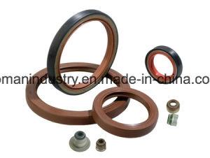 Viton NBR la junta de goma o piezas de goma moldeados de anillo de sello de aceite de goma