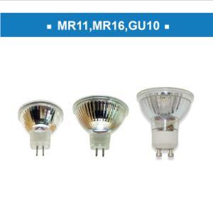 4.5W 450lm GU10 nueva espiral de luz LED Lámpara de filamento
