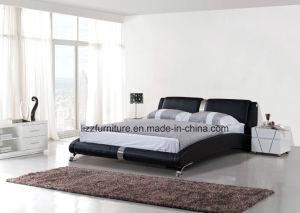 أسود لون جلد [إيوروبن] حديثة بيتيّة سرير ليّنة