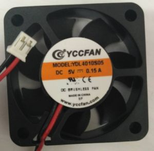 UL CE DC 5V 12V 40x40x10mm petit radiateur électrique du ventilateur du refroidisseur d'air