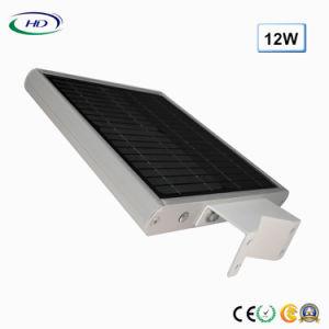 2018経済的なタイプ12W統合されたLEDの太陽庭ライト