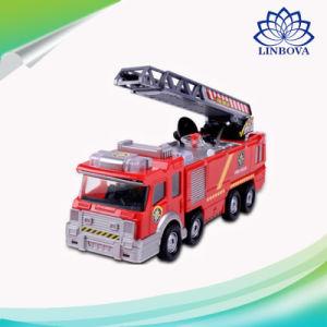음악을%s 가진 장난감이 보편적인 물분사 화재 전투 수송기에 의하여 농담을 한다