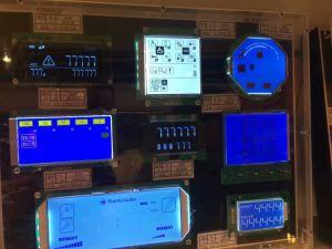 Caracteres de tocar la pantalla LCD Cog FSTN gráficos