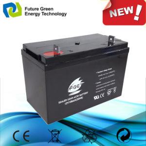 12V100AH delante de la Energía Solar regula el acceso de terminal de plomo-ácido VRLA baterías UPS