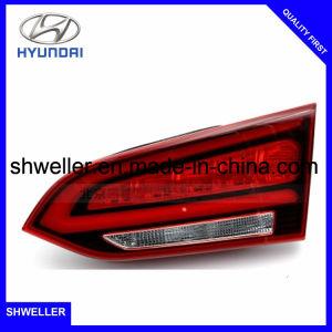 Lâmpada traseira automática para a Hyundai Santa Fe 2017 Lâmpada da Sinaleira Traseira
