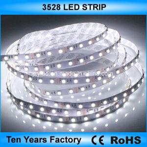 indicatore luminoso di striscia impermeabile flessibile di 12V SMD 3528 LED