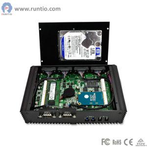 Lo standard 4500u dell'azienda di trasformazione di Haswell I7 Soc di memoria dell'Intel si raddoppia contenitore di PC di industria dell'azienda di trasformazione di memoria mini per il chiosco