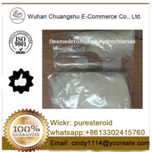 Dient het Ruwe Poeder van het Waterstofchloride van Dexmedetomidine van de hoogste Kwaliteit
