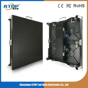 P3.91 풀 컬러 실내 옥외 LED 스크린 전시 높은 정의 임대 단계 발광 다이오드 표시