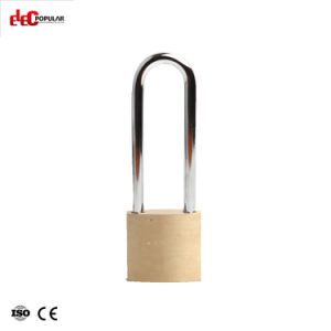 75mmの熱い販売の最もよい価格の習慣OEMは固体鋼鉄真鍮のパッドロックを堅くした