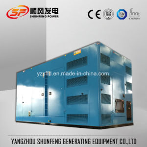 Stille Diesel van de Stroom 1250kVA Geluiddichte Yuchai Generator
