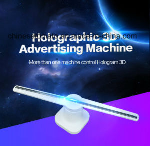 Голографическая 3D светодиодный дисплей вентилятора для использования внутри помещений реклама оборудование