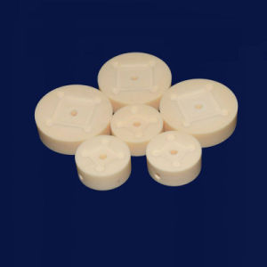 耐熱性Zro2ジルコニアの陶磁器の予備品陶磁器工業