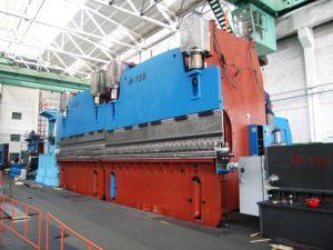 Buigende Machine/Rem de Achter elkaar van de Pers (2-WE67K-500/5000)
