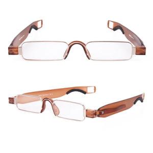 Plegable Portátil de 360 grados de rotación gafas de lectura para los hombres las mujeres