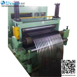 riga di taglio automatica della bobina d'acciaio di velocità di 1500mm per il piatto spesso