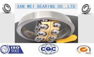 Autoalineador de latón de rodamiento de bolas/Nylon/Steel Cage Larga vida profesional de la fabricación de bajo ruido