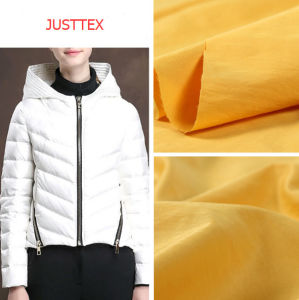 100 % polyester Tissu pongés Outdoor Down Jacket