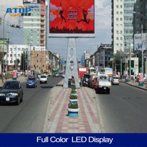 L'extérieur de la publicité pleine couleur écran mur vidéo LED